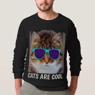 Moletom Os GATOS SÃO t-shirt LEGAL, engraçados do gato