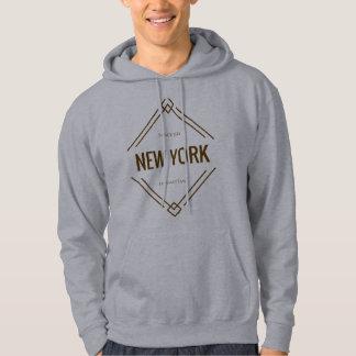 Moletom Os Hoodies dos homens de Manhattan da Nova Iorque