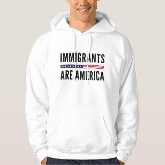Moletom Os imigrantes são América