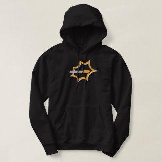 Moletom Os tiros atearam fogo ao Hoodie do logotipo