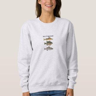 Moletom Panfish da pesca do gelo