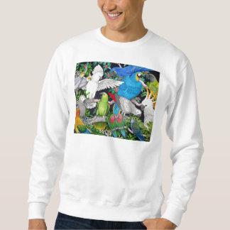 Moletom Papagaios da camisola do mundo