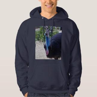 Moletom Pássaro australiano azul grande do Cassowary,