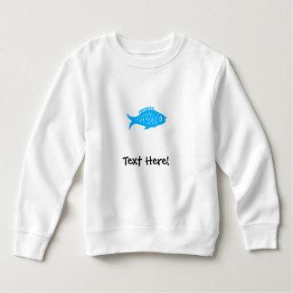 Moletom Peixes azuis