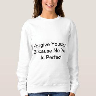 Moletom Perdoe-se porque ninguém é perfeito