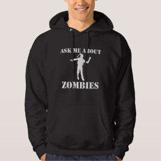 Moletom Pergunte-me sobre zombis