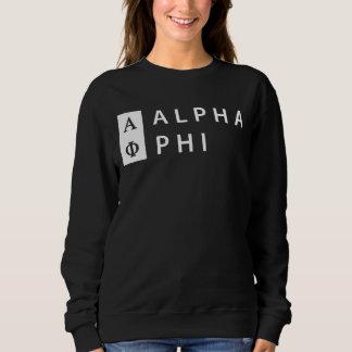 Moletom Phi alfa | empilhado