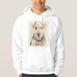 Moletom Pintura de galês Terrier - arte original bonito do