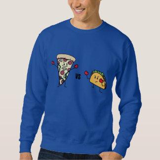 Moletom Pizza de Pepperoni CONTRA o Taco: Mexicano contra