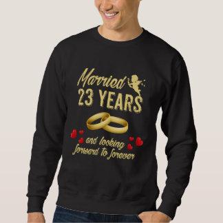 Moletom Presente da esposa do marido. 2ó Ideias do t-shirt