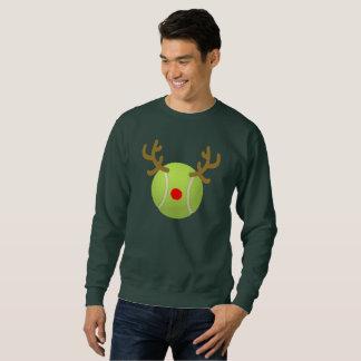Moletom presente engraçado do Natal do t-shirt do tênis da