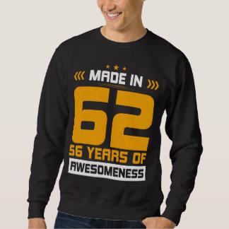 Moletom Presente para o 56th aniversário. T-shirt para