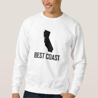 Moletom Preto de Califórnia da costa oeste o melhor