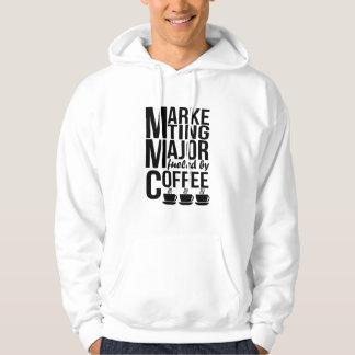 Moletom Principal de mercado abastecido pelo café