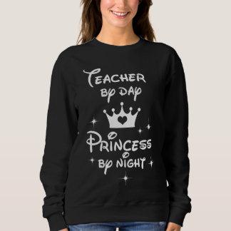 Moletom Professor pela princesa Noite do dia