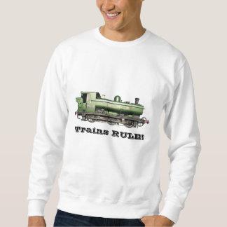 Moletom REGRA dos trens! Camisola