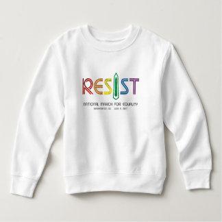 Moletom Resista a camisola da criança
