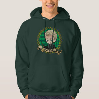 Moletom Retrato de Malfoy do Draco do Anime