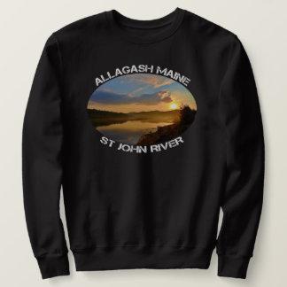 Moletom Rio de Allagash Maine St John