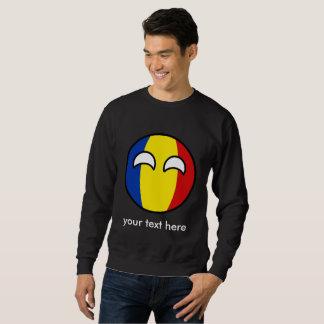 Moletom Romania Geeky de tensão engraçado Countryball