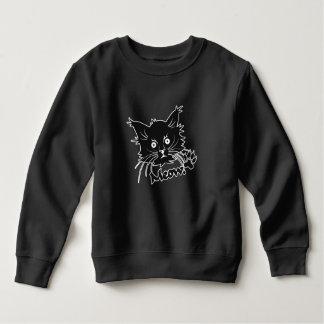 Moletom Roupa do gato preto - escolha o estilo & a cor