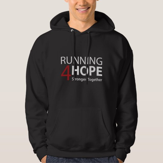 Moletom Running4Hope Stronger Together
