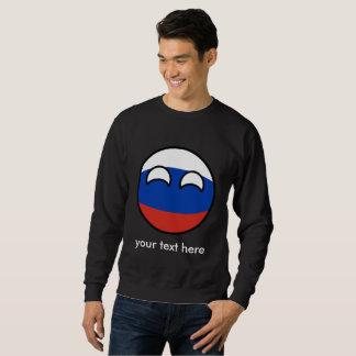 Moletom Rússia Geeky de tensão engraçada Countryball