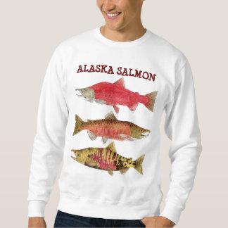 Moletom Salmões de Alaska