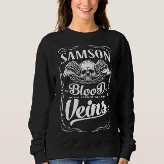 Moletom SAMSON da equipe - T-shirt do membro de vida