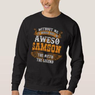 Moletom SAMSON de Aweso uma legenda viva verdadeira