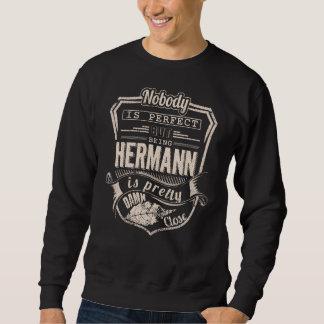 Moletom Ser HERMANN é bonito. Aniversário do presente