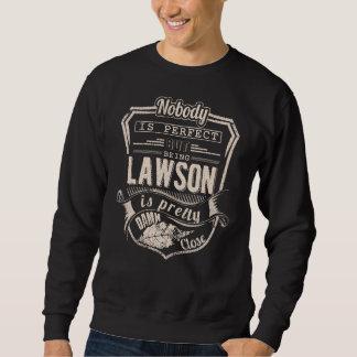 Moletom Ser LAWSON é bonito. Aniversário do presente