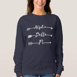 Moletom Setas alfa do Pi | do delta