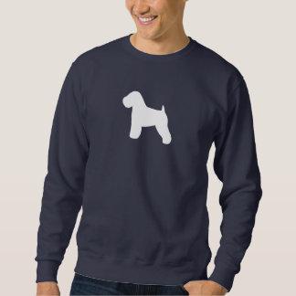 Moletom Silhueta Wheaten brandamente revestida de Terrier