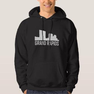 Moletom Skyline da cidade de Grand Rapids Michigan