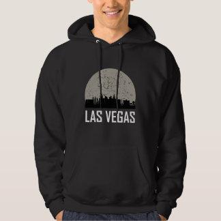 Moletom Skyline da Lua cheia de Las Vegas