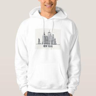 Moletom Skyline da Nova Iorque