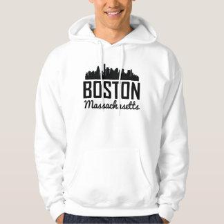 Moletom Skyline de Boston Massachusetts