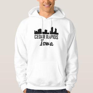 Moletom Skyline de Cedar Rapids Iowa