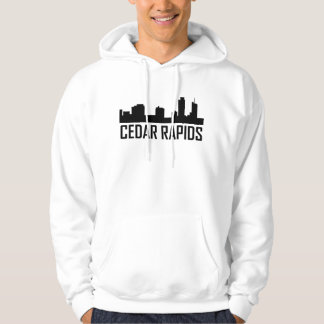 Moletom Skyline de Cedar Rapids Iowa City