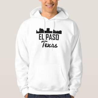 Moletom Skyline de El Paso Texas