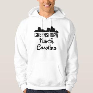 Moletom Skyline de Greensboro North Carolina