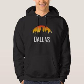 Moletom Skyline do por do sol de Dallas Texas