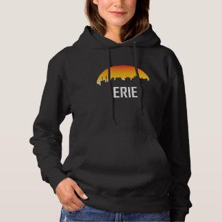 Moletom Skyline do por do sol de Erie Pensilvânia