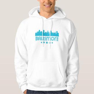 Moletom Skyline retro de Baltimore