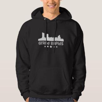 Moletom Skyline retro de Grand Rapids