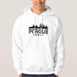 Moletom Skyline retro de Praga