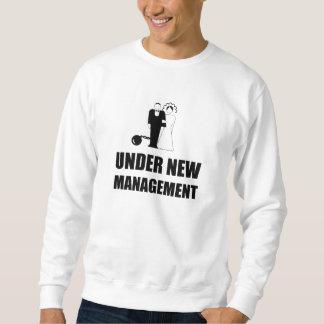 Moletom Sob a corrente nova da bola do casamento da gestão
