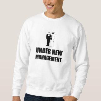 Moletom Sob o casamento novo da gestão