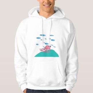 Moletom Sob o Hoodie do mar
